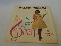"""DEE DEE SHARP: """"WILLYAM, WILLYAM"""" 45 RPM RECORD SLEEVE ONLY! AS IS!"""