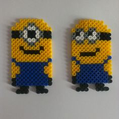 Minions perler beads by hamabead_creations