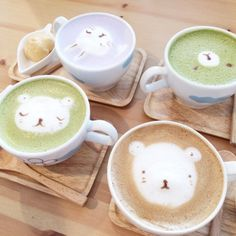 THE CUTEST COFFEE (♡‿♡)ノ (at Cafe Maji)