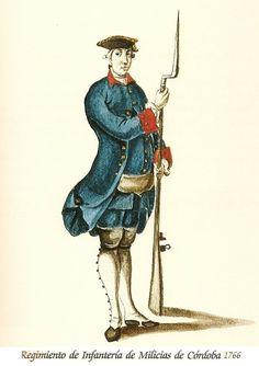 Regimiento de Infanteria de Milicias de Córdoba 1766