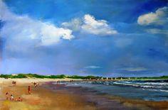 Debbie Miller Painting: beach painting