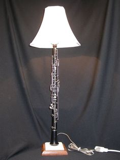Oboe lamp! When I retire one or buy an old one I'm going to do this...I've planned on doing it for several years.