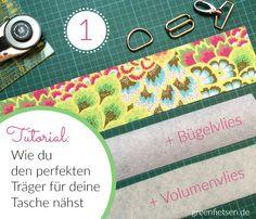 Näh-Tutorial | Wie du den perfekten Träger für deine Tasche nähst