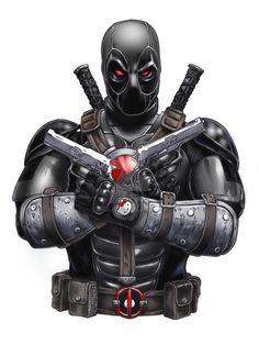 Deadpool X-Force Variant by MichaelCrutchfield.deviantart.com on @DeviantArt