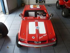 Mini Carro Antigo Mustang / Buggy Puma Uirapuru Karmann Ghia