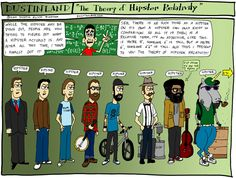Dustinland Hipster Comic #Illustration #Comic #Hipster #Humor | Voir plus d'Г©pingles sur