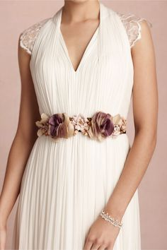 Teatime Sash in SHOP Shoes & Accessories Belts at BHLDN