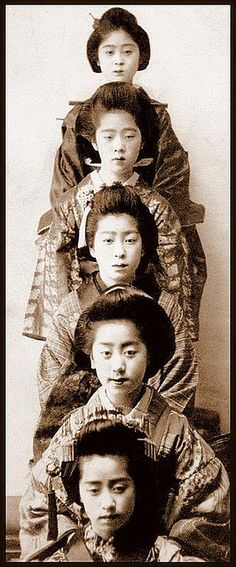 THE DANGO GEISHA GIRLS -- Unpacked, Stacked n' Racked  団子 by Okinawa Soba, via Flickr