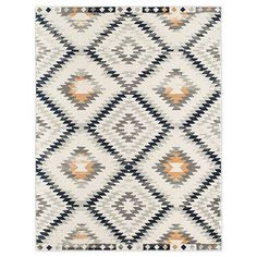 Elevate your home with a Moroccan inspired look with the Cyprus Pembrooke Area Rug by CosmoLiving. Power loomed with a soft, plush pile, it features diamond shaped motifs in a rich ivory and gold palette, creating a focal point in any room. Cosmopolitan, Gold Bed, Modern Mountain Home, Gold Palette, 8x10 Area Rugs, Grey Rugs, Power Loom, Cyprus, Diamond Shapes