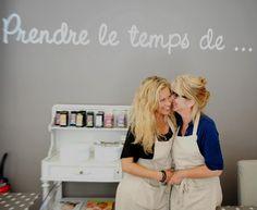 """Salon de Thé """"Une mère une fille à Paris""""  - Accueil"""