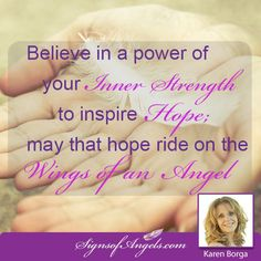 Be An Angel - Inspire Hope in Someone Today!