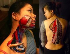 Head and Neck Anatomy The Art of Anatomy on Danny Quirk's Portfolio