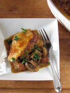 Steak & Mushroom Pot Pie from Miss in the Kitchen