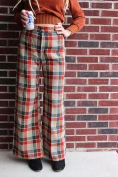 Vintage 90/'s Toni Dress Sportiv Pants Size Small DE 38 Brown Navy Petite Trousers w Pockets
