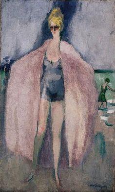 Kees Van Dongen (1877-1968) La Baigneuse 1925 (54,6 x 33 cm)