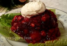 Old Fashioned Cherry Coke Salad Recipe.Congealed salads may have gone the wayside in many southern homes, but this Cherry Coke Salad might just bring you right back to it. Jello Desserts, Jello Recipes, Dessert Salads, Just Desserts, Salad Recipes, Delicious Desserts, Dessert Recipes, Yummy Food, Jello Salads