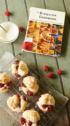 Straight out of the vintage Bisquick Cookbook! Raspberry Peek-a-Boos are the perfect throwback dessert!
