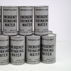 1952  US Goverment Emergency Drinking Water