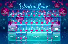 Cute Winter Christmas Theme - Blue and Pink Hearts! Xmas Theme, Christmas Themes, Winter Christmas, Lion Tamer, Send Text Message, Android Theme, Winter Love, Pink Hearts, Ui Ux