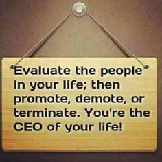 You're the CEO of your life. Make sure your shareholders get a great return.
