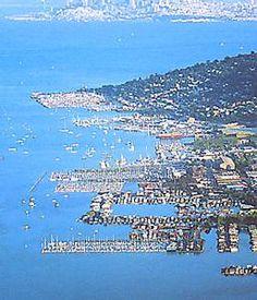 Sausalito, CA Marin county just across the Golden gate bridge