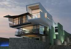 The 'Lefevre' Beach House is a Division Between Sand and Water #luxury #mansions trendhunter.com