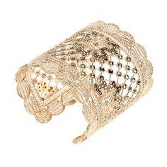 #Valentino, #VogueParis Beautiful delicate Valentino bracelet. I adore the vintage feel to it