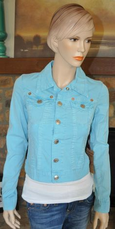 $180 AUTHENTIC TRUE RELIGION BRAND JEANS EMILY WESTERN JACKET SIZE XS
