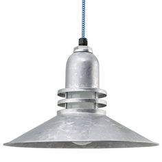 The Cherokee Uplight Cord Hung Pendant - Barn Light Electric Co. Industrial Ceiling Lights, Vintage Industrial Lighting, Barn Lighting, Ceiling Light Fixtures, Ceiling Pendant, Led Ceiling, Pendant Lamp, Pendant Lighting, Cherokee