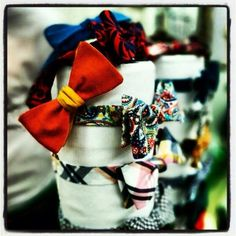 Your bowtie is waiting for you, plenty of colors and styles to choose from...