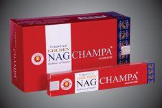 Golden Nag Champa AGARBATHI 15g Indische Räucherstäbchen Vijayshree Fragrance