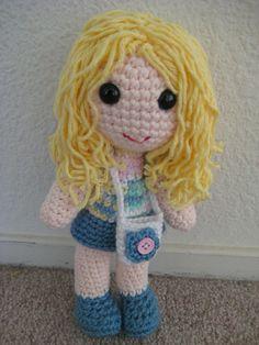 Crochet amigurumi doll #handmade #crochet #doll