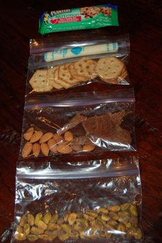 Filling 150 calorie snacks for on-the-go, what a great idea for all ages. I like the fact that many are protein based.  This helps keep blood sugars stable, reduces those sugar spikes and thus cravings.