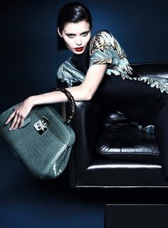 Abbey Lee returns to modelling with Gucci
