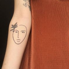 Matisse inspired lady with a lil' coffee cherry branch 〰 thanks so much again ! (at Kamikaze Tattoo) Matisse Tattoo, Cherry Tattoos, Body Modifications, Skin Tips, Black Tattoos, Tattoo Inspiration, I Tattoo, Tatoos, Body Art