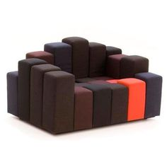 "This reminds me of Led Zeppelin's ""Houses of the Holy"" album cover. Do-Lo-Rez Sofa, Do-Lo-Rez Couch & Moroso Do-Lo-Rez Sofa 