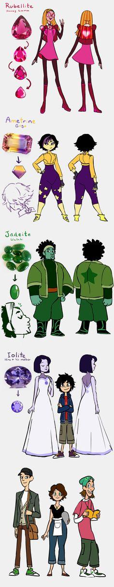 I spy a Steven Universe AU by kemiobsesses