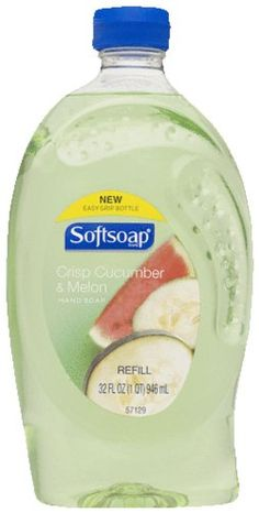 Softsoap Hand Soap Refill 32 Oz Pack of 2 Crisp Cucumber  Melon ** Want to know more, click on the image.(This is an Amazon affiliate link and I receive a commission for the sales) #HandSoap