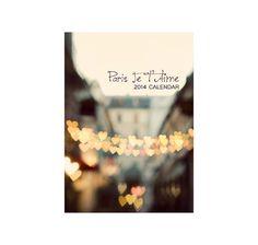 2014 Paris Calendar Travel Photography 5x7 door EyePoetryPhotography, $24.00