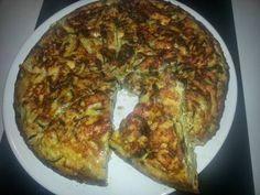 Fabulosa receta para Tortilla de calabacín con tofu. visitanos en: http://truco-hogar.blogspot.fr/