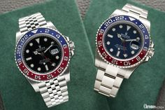 Rolex GMT-Master II 126710 BLRO, 116719 BLRO blue dial Baselworld 2018 Sport Watches, Cool Watches, Watches For Men, Watches Rolex, Luxury Watches, Vintage Rolex, Vintage Men, Rolex Datejust, Watches