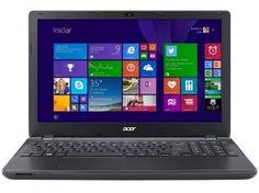 Notebook Acer Aspire E5-571-320G c/ Intel Core i3 - 4GB 500GB Windows 8.1 LED 15,6 HDMI Bluetooth