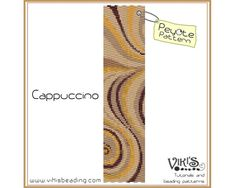 Cappuccino Peyote Pattern  INSTANT by VikisBeadingPatterns on Etsy, $6.50