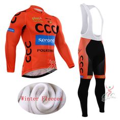 54.15$  Watch now - http://aliahq.shopchina.info/1/go.php?t=32695979925 - 2015 Long Sleeve Winter Thermal Fleece Cycling Sets Ropa Ciclismo Invierno/Super Warm Black Bicycle Cycling Bike Clothing  #magazine