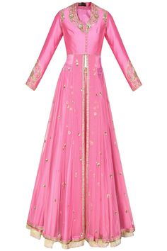 Excited to share this item from my shop: Pink long jacket with silk skirt, indo western dress, blush pink silk Anarkali and skirt, engagement dress, indian bridesmaids Indian Bridal Lehenga, Indian Gowns, Pakistani Dresses, Anarkali Gown, Lehenga Choli, Red Lehenga, Lehenga Skirt, Indian Designer Outfits, Indian Outfits
