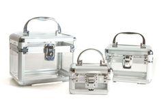7c6e92f84 SH-3CASE-CLEAR Set de 3 maletines transparentes diseñados para organizar  maquillaje y encontrarlo de la manera más rápida. SHANY Cosmetics.
