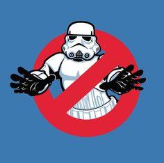 Star Wars and Ghostbusters Star Wars Love, Star Wars Art, Star Wars Rebels, Star Wars Silhouette, Star Wars Humor, Star Wars Collection, Love Stars, Geek Art, Cultura Pop