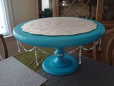 diy cake stand wedding