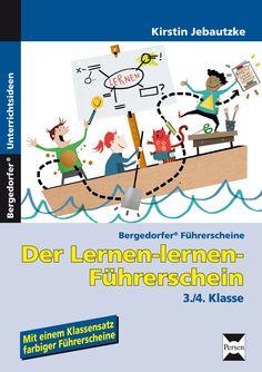 Der Lernen-lernen-Führerschein - 3./4. Klasse - Buch