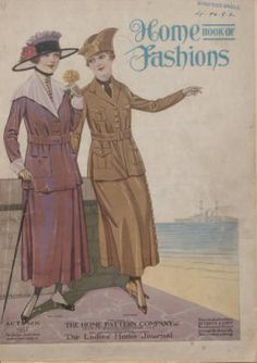 Home book of fashions. 1917. Metropolitan Museum of Art (New York, N.Y.). Thomas J. Watson Library. Trade Catalogs. #goodfriends #smile | Friends and Fashion.